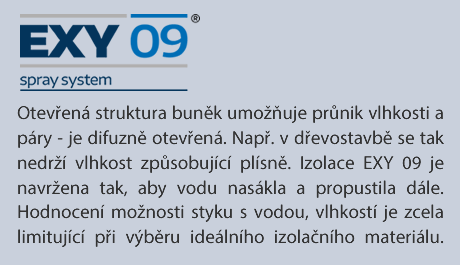 EXY 09 JE DIFUZNĚ OTEVŘENA